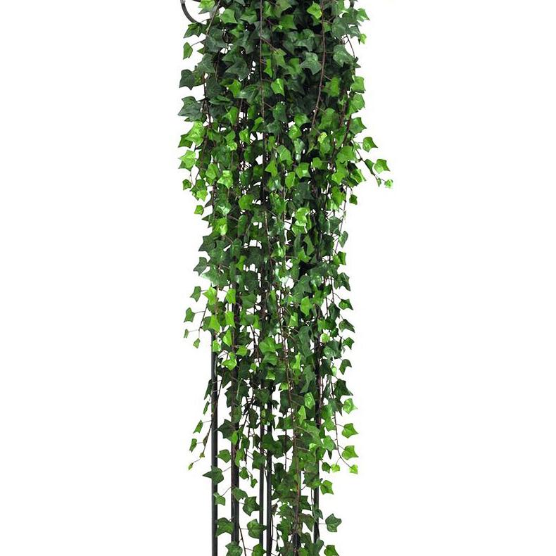 EUROPALMS 160cm Muraattiköynnös deluxe, vihreä. Deluxe ivy tendril, green. Voluminous vine in intensive colors