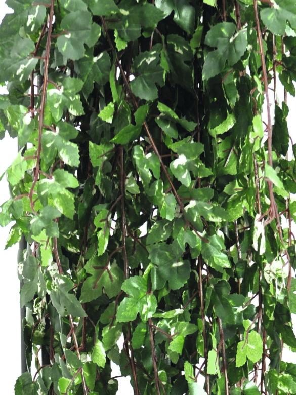 EUROPALMS 160cm Muraattiköynnös deluxe, vihreä-valkoinen. Deluxe ivy tendril, green. Voluminous vine in intensive colors