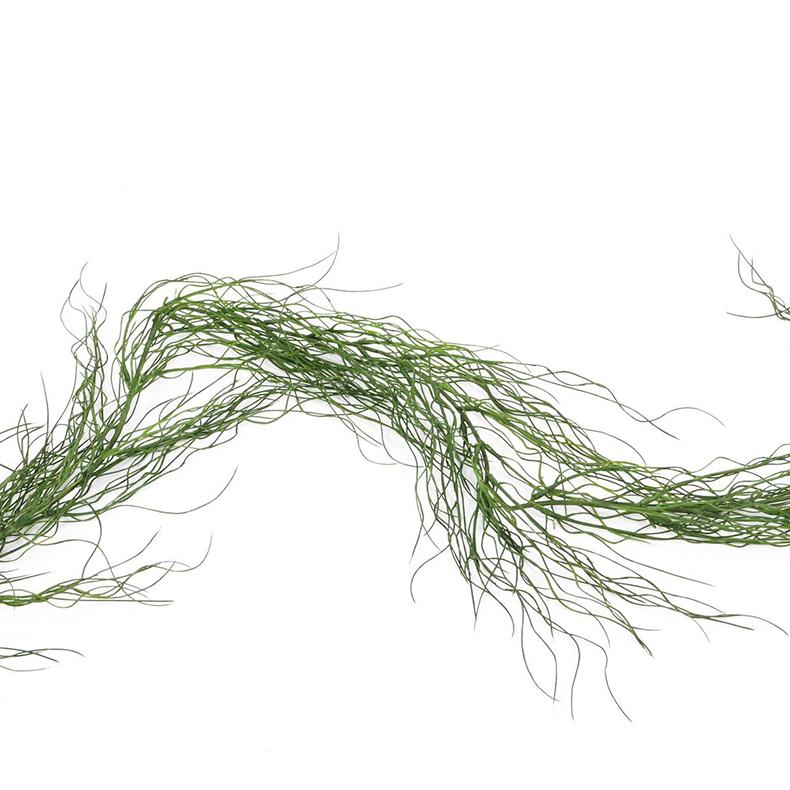 EUROPALMS 180cm Ruohoköynnös, vihreä. Grass garland, green.