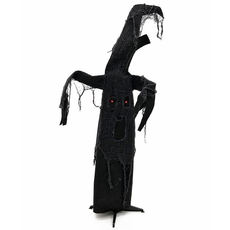 EUROPALMS Halloween aavepuu musta 110cm,, discoland.fi