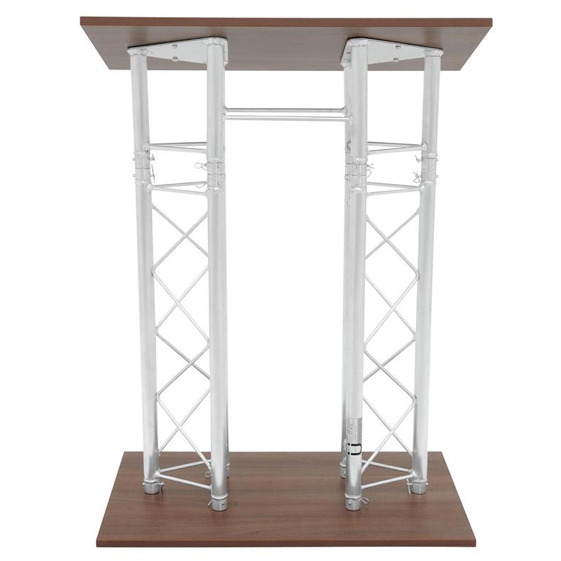 ALUTRUSS Puhujakoroke/kateederi trussista, tyylikäs ja kestävä 1160 x 600mm. Designer lectern RP-1