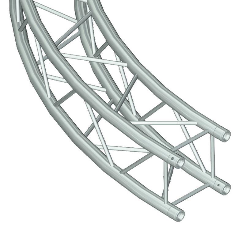 ALUTRUSS DECOLOCK DQ-4 Ympyrätrussi d=5m (sisämitta), täydellinen paketti, kasattava. Circle truss d=5m (inside)
