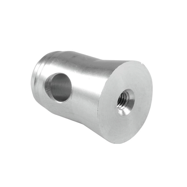ALUTRUSS QUADLOCK puolikartioliitin kierteillä M8. Half conical coupler with thread M8