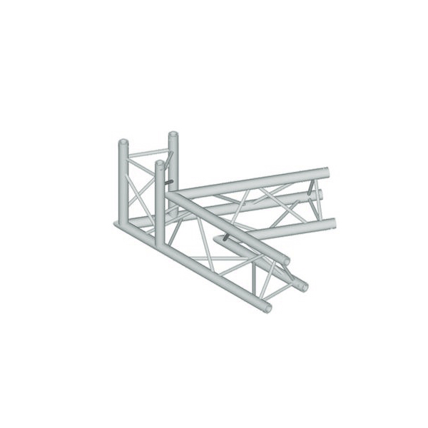 ALUTRUSS TRILOCK 3-tie kulmapala 60° 6082AC-20-3. 3-way corner piece