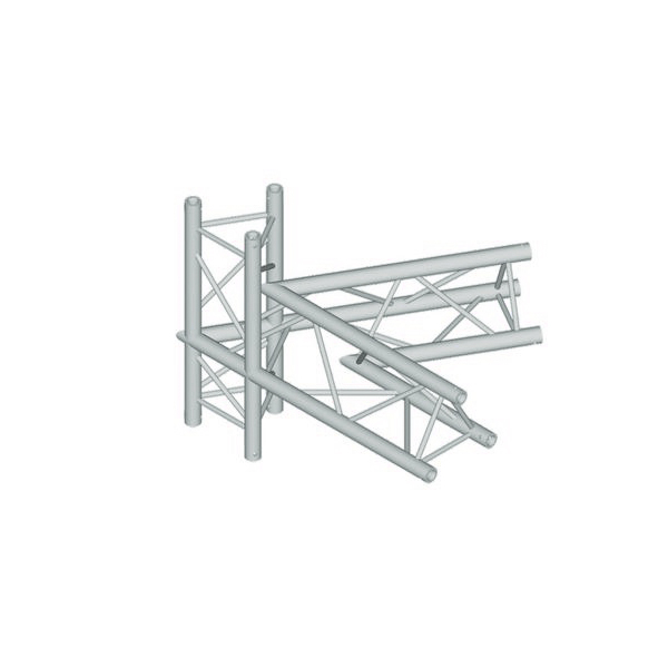 ALUTRUSS TRILOCK 4-tie kulmapala 60° 6082AC-20-4. 4-way corner piece