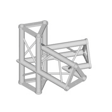 ALUTRUSS TRISYSTEM 4-tie kulmapala 60° PAC-20-4. 4-way corner piece