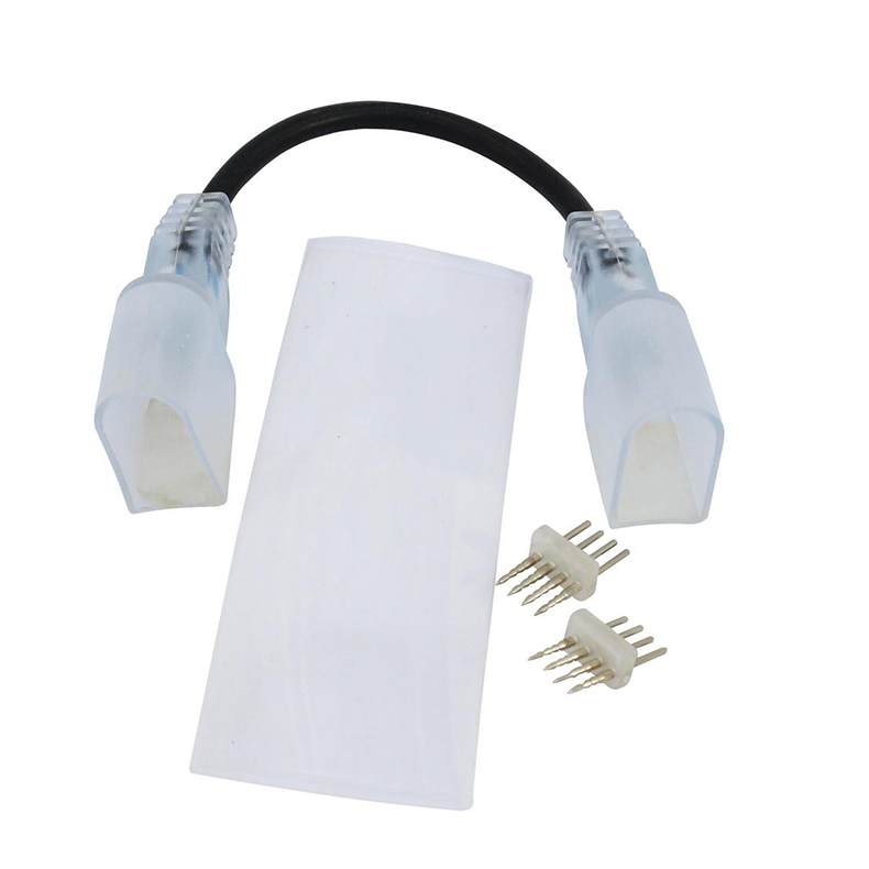 EUROLITE LED Neon Flex EC RGB taipuisa johtoliitin. Flexible connector