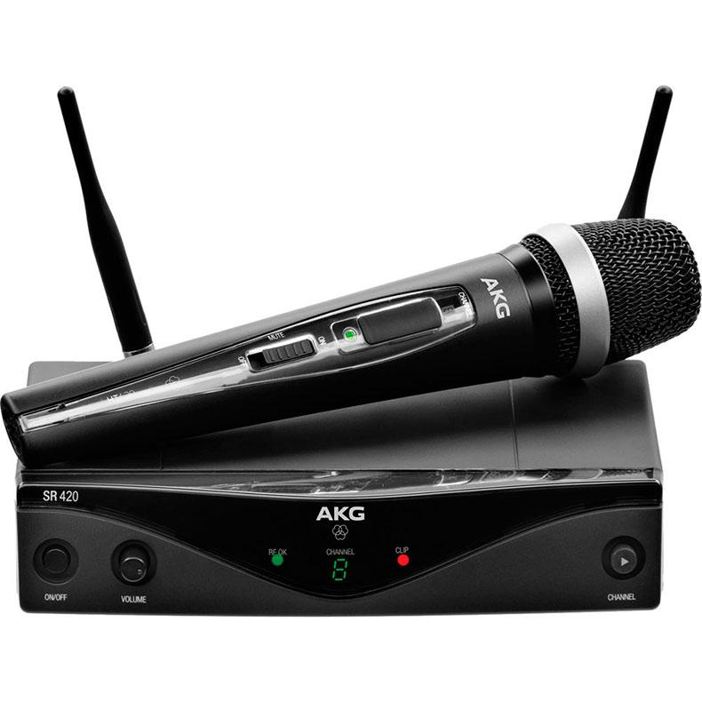 AKG WMS420 HTD5 langaton vocal mikrofoni, discoland.fi