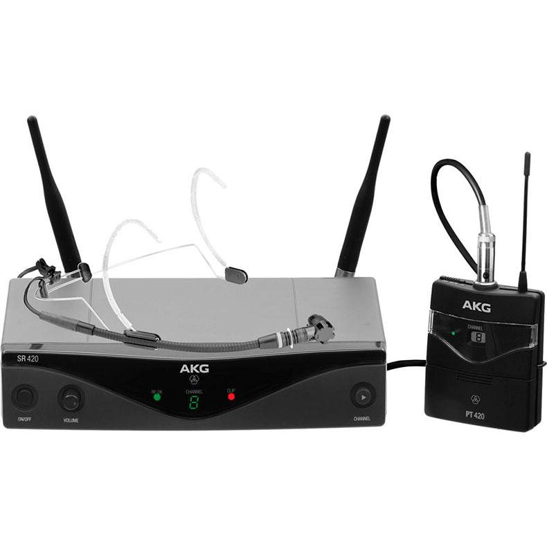 AKG WMS420 Headset (M826,300MHz) langato, discoland.fi