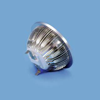 OMNILUX PAR-36 7x1W LED AR111 12V 9W cw, kylmä valkoinen n. 6500K