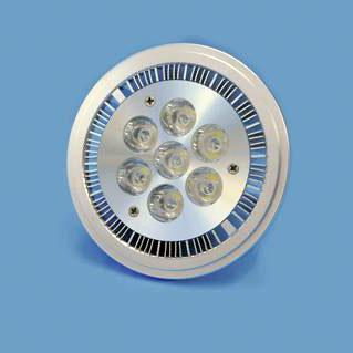 OMNILUX PAR-36 7x1W LED AR111 12V 9W cw,, discoland.fi