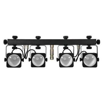 EUROLITE LED KLS-50 neljän spotin valos, discoland.fi