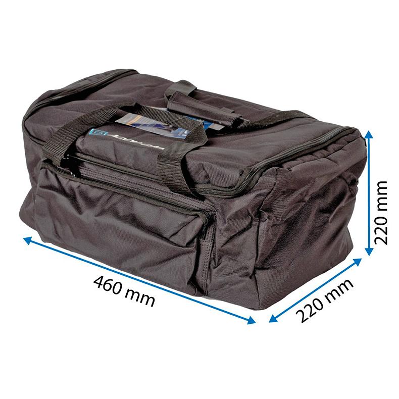 ACCU-CASE Suojalaukku savukoneille tai scannereille, 400mm x 22mm x 220mm, ASC-AC-120