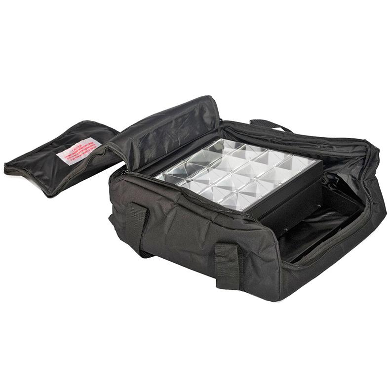 ACCU-CASE Suojalaukku deco- ja valoefekteille 330mm x 375mm x 130mm, ASC-AC-100