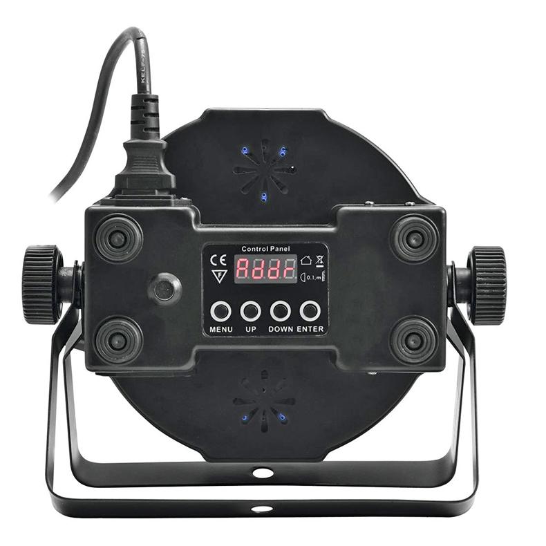 VUOKRAUS Ei saatavilla tällä hetkellä! Vuokraa LED SLS-144 RGBW 144x 5mm LEDiä 21° slimline floor LED-spotti, ohjauspaneeli LED-näytöllä laitteen takana, staattiset värit, RGBW-värisekoitukset, sisäänrakennetut valmiit ohjelmat, himmennin, strobe-efekti, ääniohjaus, DMX-ohjaus tai stand-alone, master/slave.  </br> <B>Hinta laite/vrk - EI VOI TILATA NETTIKAUPAN KAUTTA</br> Tilaus puhelimitse: (09) 342 4220 tai sähköpostitse webshop@discoland.fi</B>
