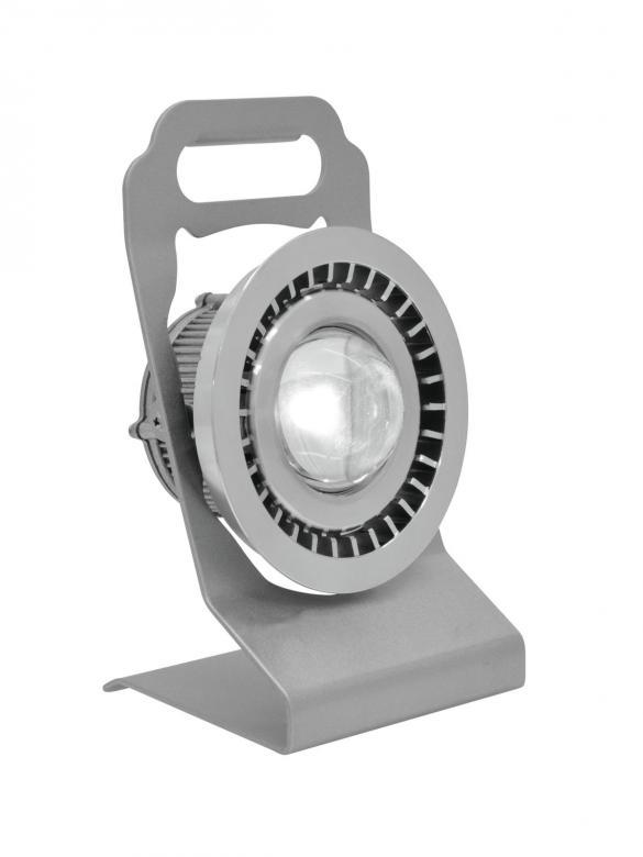 EUROLITE ACCU IP65 LED-työvalo 5W 6500K, valokeila 60-100°, tyylikäs helppokäyttöinen siirrettävä valaisin, joka sopii sisä- ja ulkokäyttöön, lampun kallistuskulma helposti säädettävissä 40° saakka, toimii vaihtoehtoisesti ladattavalla lithium-ioni-akulla tai 230V verkkovirtalähteellä 12V DC (sisältyy tuotteeseen), latausaika n. 6h, akun toiminta-aika n. 2-3h.