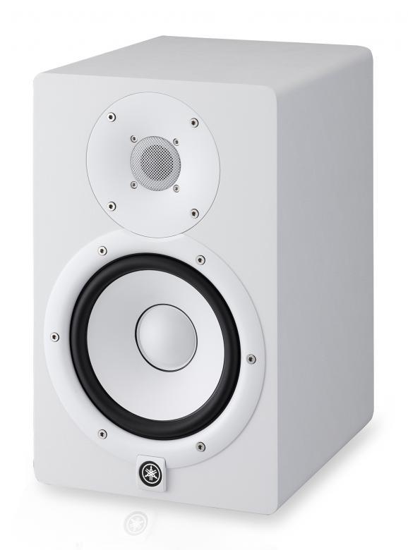 YAMAHA HS7 Biamp 2-tie aktiivikaiutin 95W valkoinen Studiomonitori 6.5