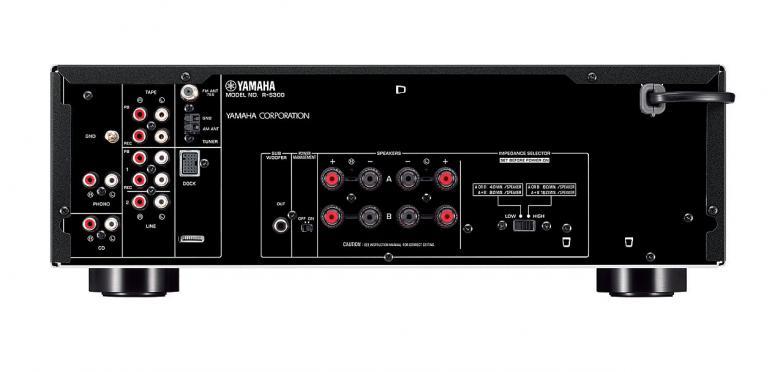 YAMAHA RS-300 Viritinvahvistin RMS 2x 50W. ToP-ART, Pure Direct, säädettävä loudness, subwoofer uloslähtö, 40-aseman FM/AM muistipaikat. Audio IN/OUT 5/2. ART base runko, minimoi kohinan sekä häiritsevän värinän äänestä. Väri hopea. Yli 125 vuoden kokemus soitinvalmistuksesta on antanut Yamahalle sekä kyvyn että intohimon tuottaa hyvälaatuista ääntä. Tämä sama intohimo tavoitella mahdollisimman puhdasta ääntä on vaikuttanut myös Yamahan HiFi-laitteiden suunnitteluun. Huomaat sen joka sävelessä, ensimmäisestä viimeiseen.