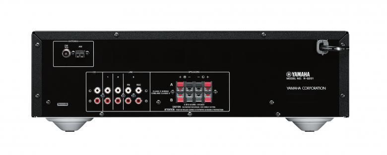 YAMAHA R-S201 Viritinvahvistin RMS 2x 140W 40-aseman FM/AM muistipaikat. Audio IN/OUT 4/1. A+B, kuulokeliitäntä, kaukosäädin. Yamaha R-S201 on edullinen vaihtoehto, monipuolisilla ominaisuuksilla. Yli 125 vuoden kokemus soitinvalmistuksesta on antanut Yamahalle sekä kyvyn että intohimon tuottaa hyvälaatuista ääntä. Tämä sama intohimo tavoitella mahdollisimman puhdasta ääntä on vaikuttanut myös Yamahan HiFi-laitteiden suunnitteluun. Huomaat sen joka sävelessä, ensimmäisestä viimeiseen. Väri hopea