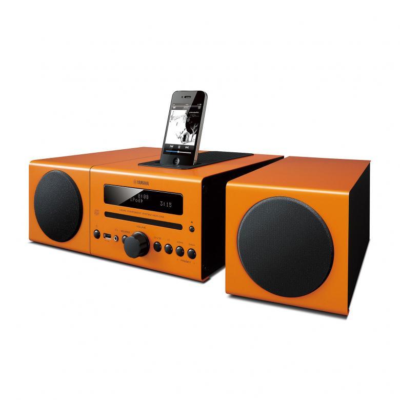 YAMAHA MCR-042 Microjärjestelmä CD:llä, 2x 15W, suoratelakointi iPod, iPhone, USB-port ja radio. Täytä huoneesi runsaalla sekä luonnollisella äänellä useasta eri musiikkilähteestä. Väri valkoinen.