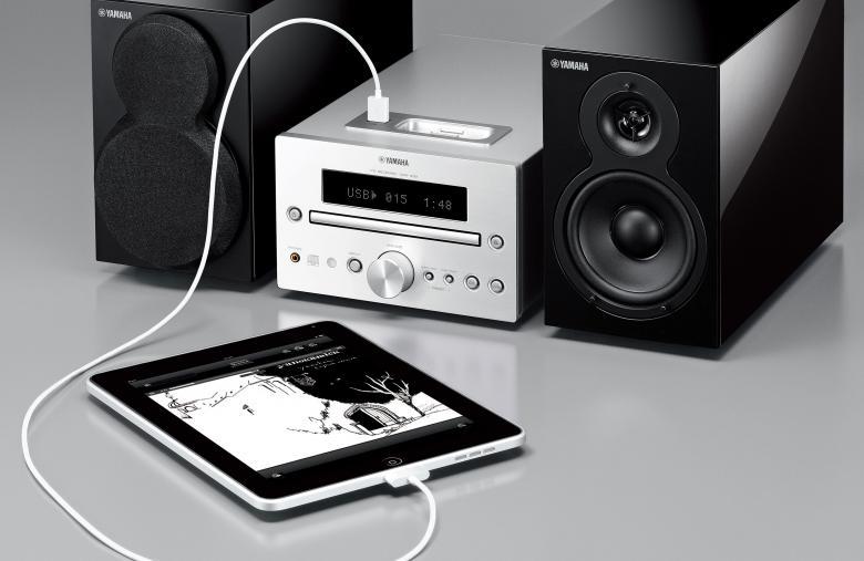 YAMAHA MCR-332 CD HiFi-microjärjestelmä. 2x 20W, iPod/iPhone digitaalinen telakointi, USB-port, subwoofer liitäntä. Erittäin tyylikäs ja monipuolinen sekä upealla äänentoistolla oleva HiFi-microjärjestelmä. Väri musta.