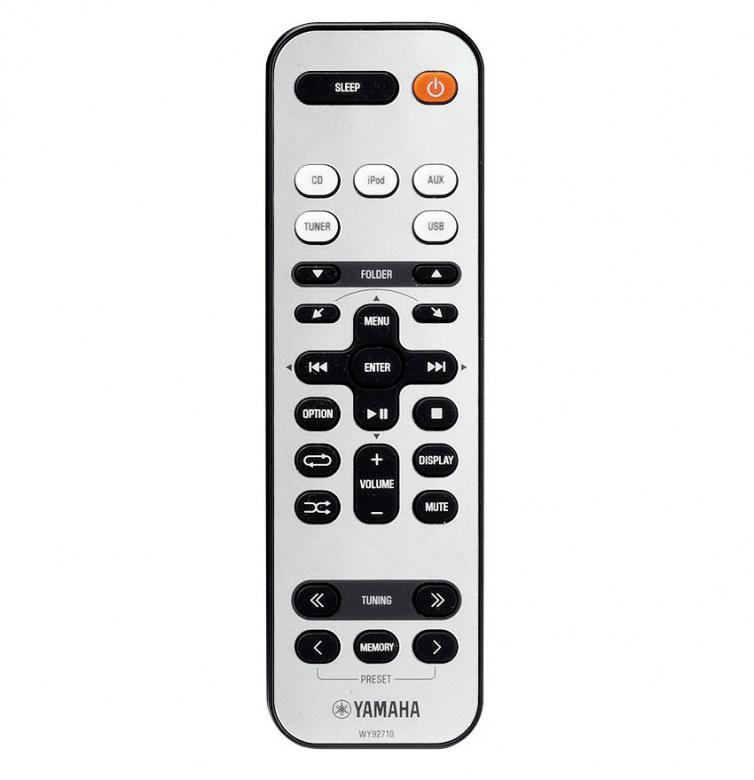 YAMAHA MCR-332 CD HiFi-microjärjestelmä. 2x 20W, iPod/iPhone digitaalinen telakointi, USB-port, subwoofer liitäntä. Erittäin tyylikäs ja monipuolinen sekä upealla äänentoistolla oleva HiFi-microjärjestelmä. Väri hopea.