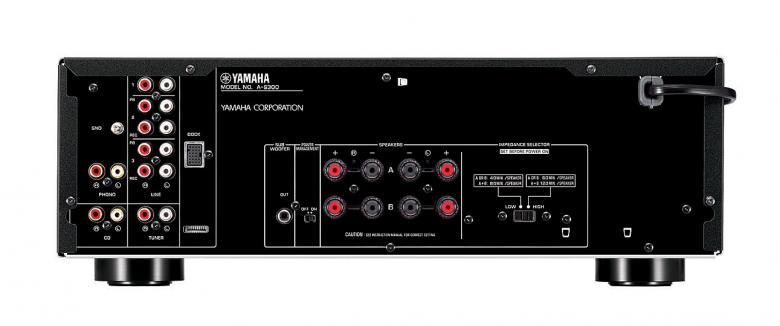 YAMAHA AS-300 Vahvistin 2x 95W iPod. Telakka liitettävyys, ToP-ART, Pure Direct, säädettävä loudness, subwoofer liitäntä. Yamaha AS-300 on yksinkertaista designia yhdistettynä puhtaaseen suorituskykyyn. Väri musta.