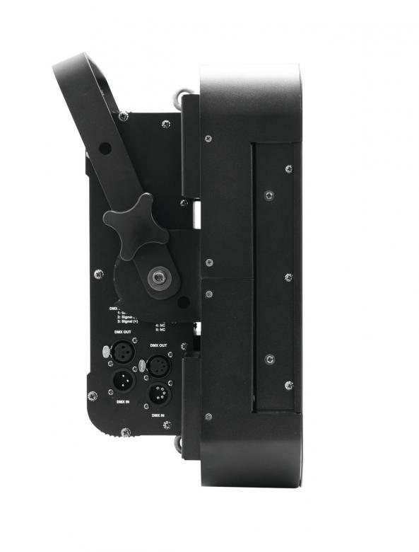 EUROLITE PRO LED PMC-16 NSP Performance Clusteri 16x 30W COB RGB LEDiä, 15°, LED-toimintonäyttö ohjauspaneelilla laitteen takana, staattiset värit, RGB-värisekoitus, jokainen LED säädettävissä erikseen, sisäänrakennetut ohjelmat, strobessa välkkymisnopeus säädettävissä, himmennin, musiikkiohjaus, DMX-ohjaus tai stand-alone, master/slave.