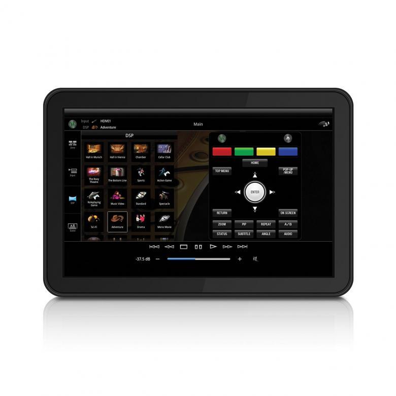 YAMAHA BD-S677 Blu-ray-soitin 3D-Ready, WiFi, iPhone- & Android App, DLNA, MiraCast, Dropbox, Picasa, DivX PlusHD, MKV , SACD Uutuus Blu-ray soittimessa on erinomaiset ominaisuudet yhdistettynä loistavaan teräväpiirtokuvanlaatuun. Uusi Miracast toiminto, jolla kuvan ja äänen voi siirtää yhteensopivasta älypuhelimesta tai Tablet-tietokoneesta, tv-ruudulle ilman kotiverkon WLAN-yhteyttä. BD-S677 toistaa Super Audio CD -levyjen monikanavaisen äänen HDMI-liitännän kautta. Sisään rakennettu WIFI vastaanotin. Väri titan