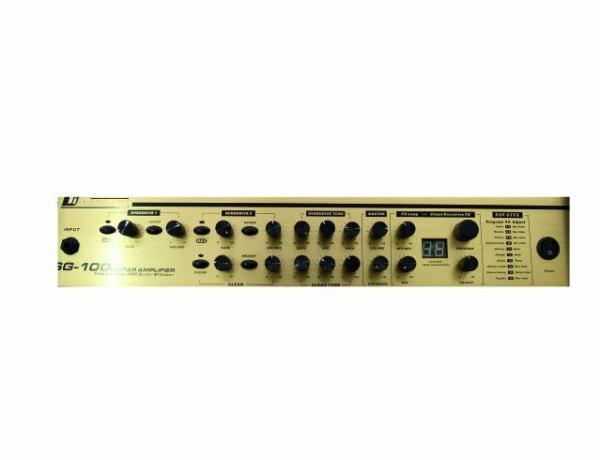 DIMAVERY Poisto!DSG-100 E-guitar tube amp, 100 W guitar combo with USB interface,Kitaracombo 100 W USB-liitännällä
