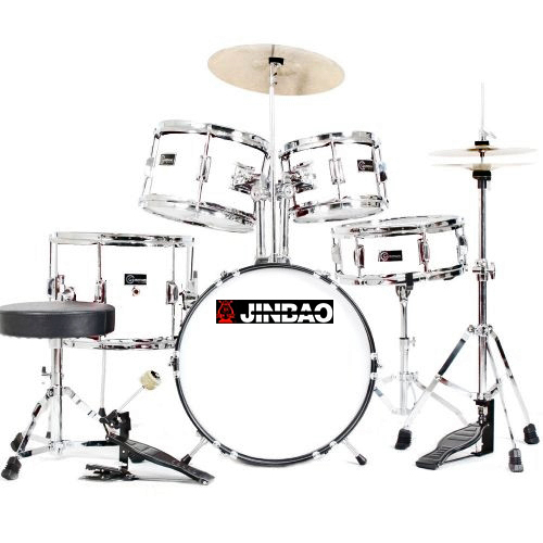 "JINBAO Poisto!JBJ1045 Korkealaatuinen Lasten & Nuorten Rumpusetti, <b>Valkoinen</b>, High-quality 5 Piece Kids Drum Set, White, 16""x11"" BD, 13""x10"" FT, 12""x5"" SD, 11""x7"" TT, 10""x7"" TT + Cymbals + Hardware + Drum throne.sulanut_hinta<br /><br /><br />"