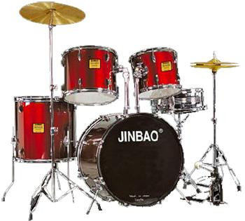 JINBAO JBP590 Korkealaatuinen Rumpusetti, discoland.fi