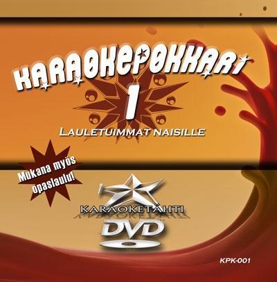 KARAOKEPOKKARI Vol 1 DVD Lauletuimmat Na, discoland.fi