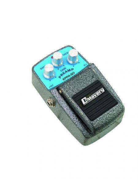 DIMAVERY EPPA-50 Effect pedal, Preamp, E, discoland.fi