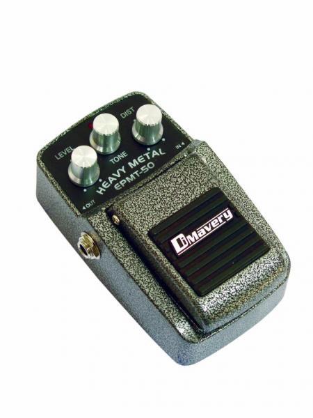 DIMAVERY EPMT-50 Effect pedal, HeavyMeta, discoland.fi