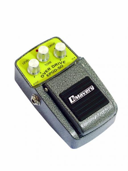 DIMAVERY EPOD-50 Effect pedal, Overdrive, discoland.fi