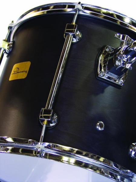 DIMAVERY DS-515G Drum Set, Black 5 pcs, myös punainen ja sininen väri
