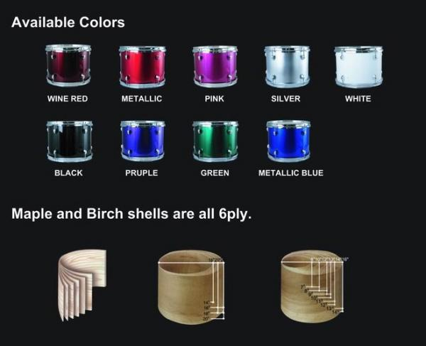 "JINBAO Loppu!JBJ1045 Korkealaatuinen Lasten & nuorten Rumpusetti, Purple <b>Violetin SININEN</b>, High-quality 5 Piece Kids Drum Set, Purple, 16""x11"" BD, 13""x10"" FT, 12""x5"" SD, 11""x7"" TT, 10""x7"" TT + Cymbals + Hardware + Drum throne."