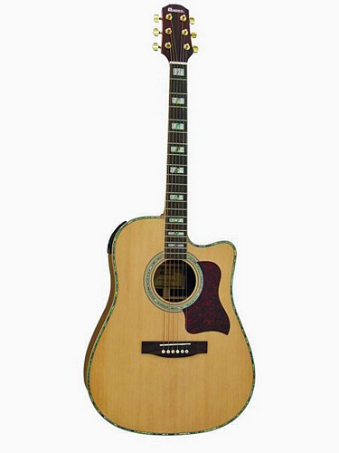 DIMAVERY STW-70 Western Guitar. Dreadn.Massiv, Something special!