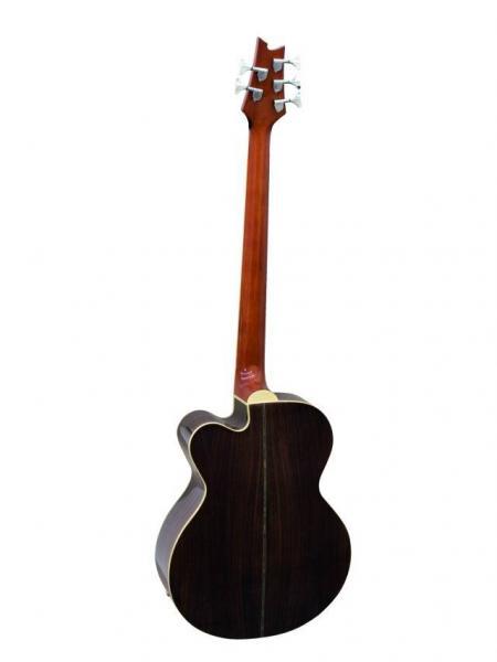 DIMAVERY AB-500 Acoustic Bass w.EQ,5-str. n, 5-kielinen akustinen basso
