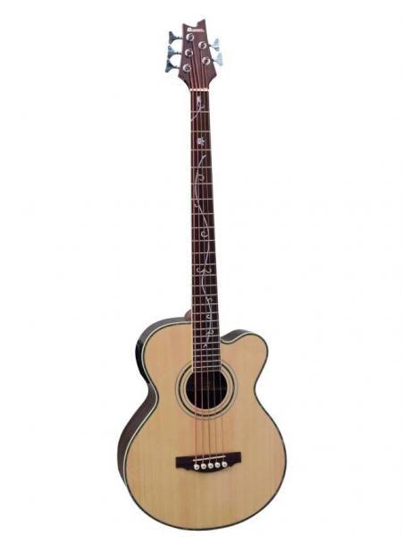 DIMAVERY AB-500 Acoustic Bass w.EQ,5-str, discoland.fi