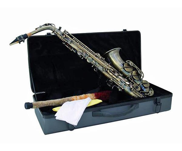 DIMAVERY SP-30 Eb Vintage alttosaksofoni, Vintage-väritys. Alto Saxophone