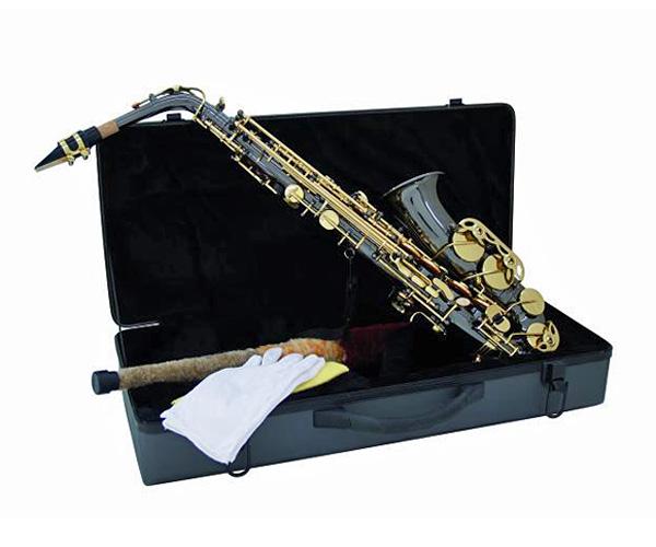 DIMAVERY SP-30 Eb Alttosaksofoni, musta helmiäinen. Alto Sax, Pearl Black