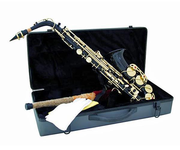 DIMAVERY SP-30 Eb Alto Saxophone, Black, Alttosaksofoni, musta