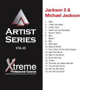 XTREME CD+G Xtreme Artist 35 - Jackson 5, discoland.fi