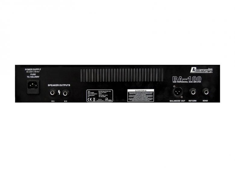 DIMAVERY BA-100 Bassovahvistin combo 100W. Bass combo amplifier