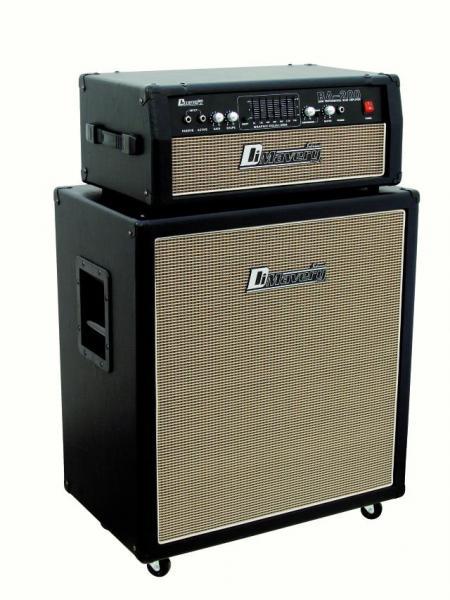 DIMAVERY BA-200 Bass amplifier top 200W, Bassovahvistin nuppi