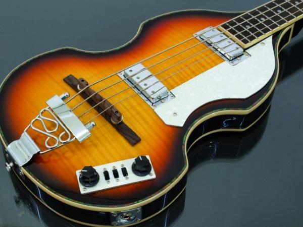 DIMAVERY VB-100 Violin Bass, sunburst, Viulubasso