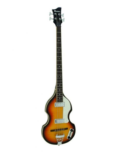 DIMAVERY VB-100 Violin Bass, sunburst, V, discoland.fi