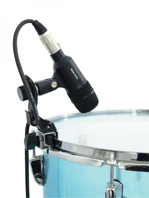 DIMAVERY Mikrofonin pidike rummuille, Microphone holder for drums MDP-1